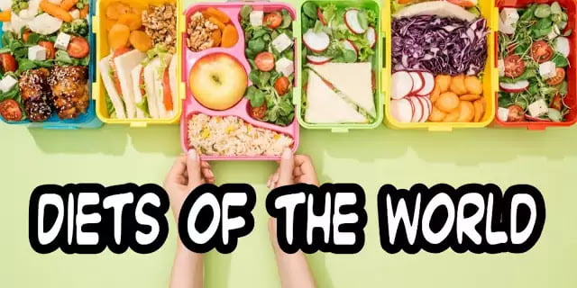 diets of the world